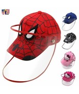 Protective Spiderman Baseball Cap Shield Kid Child Detachable Shield Hat... - $9.98