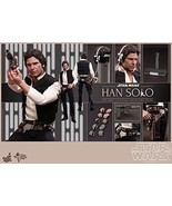 NEW Movie Masterpiece STAR WARS EP4 HAN SOLO 1/6 Action Figure Hot Toys - $603.84