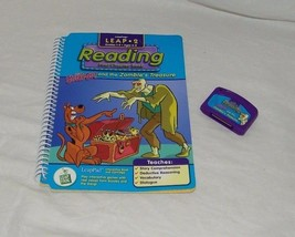 Leap Frog LeapPad 2 Activity READING Scooby Doo Zombies Treasure Ages 6-... - $7.24