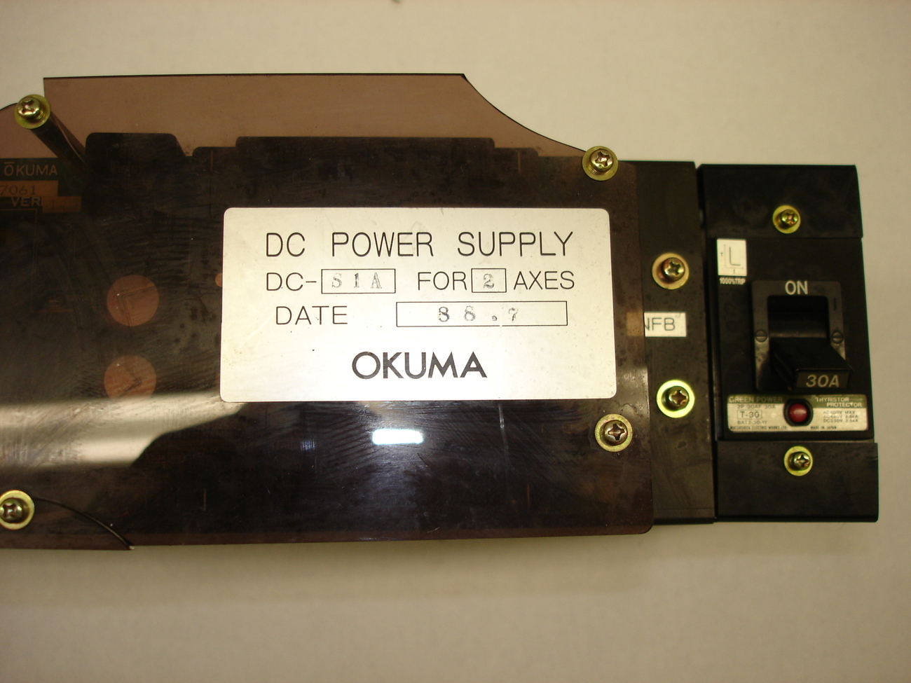 Okuma DC Power Supply DC-S1A