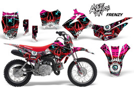 Honda CRF110F Dirt Bike Graphic Sticker Kit Decal Wrap MX 2013-2016 FRENZY - $118.75