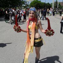 Rikku cosplay costume from Final Fantasy - $350.00