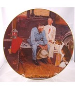 Vintage 1982 Norman Rockwell Breaking Home Ties Gorham Plate - $4.99