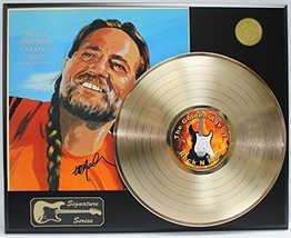 Willie Nelson LP Record Reproduction Signature Series  Display - $145.95