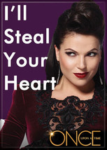 Once Upon A Time TV Series Evil Queen Steal Your Heart Refrigerator Magn... - $3.99