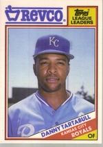 1988 Danny Tartabull Topps Revco Baseball Card - $4.50