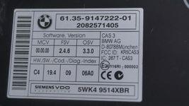 09 Mini Cooper R56 ECU ECM DME CAS3 Computer Ignition Switch Fob Tach SET - 6spd image 4