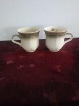 Set of 2 Mikasa Country Estate-autumn vale mugs - $18.69