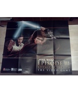 Star Wars Episode III Revenge of the Sith Video Game Poster - $16.95