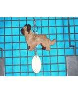 Briard crate tag or hang anywhere, herding dog art, handmade kennel acce... - $23.00