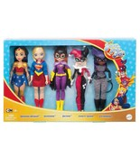 NEW DC Super Hero Girls Dolls, Set of 5 FREE SHIPPING - $41.99