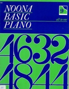 Noona Basic Piano All In One Book 9 (Level 3)