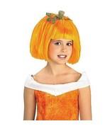 Rubies Pumpkin Spice Child Costume Wig NEW Orange - $12.00