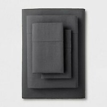Solid Easy Care Sheet Set (twin/twin Extra Long) Dark Gray - Made By Design™