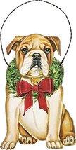 Primitives by Kathy Ornament - Christmas Bulldog Home Decor - $10.82