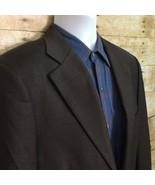 Loro Piana for John W Nordstrom Brown Blazer Men's 40S Super 120's Four ... - $24.05