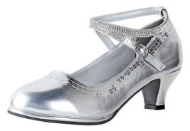 Little Angel Tasha Heels For Girls   Dress Shoe   Holiday Shoe   Adjustable - $37.99