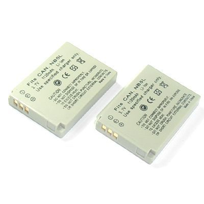 2X NB-5L NB5L Camera Battery For Canon IXUS 850 860 950