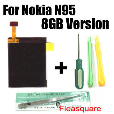LCD Screen Display for Nokia N95 8GB + Tools