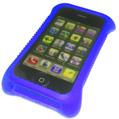 Blue Game Pad Grip holder Case Skin for iPhone 3G 3GS