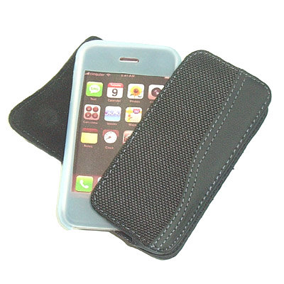 Iphone magnetic leather case3