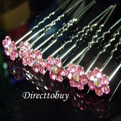 Pink crystal flower2