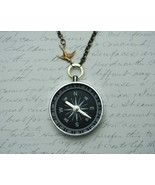Never Lost Compass Necklace                - $28.00