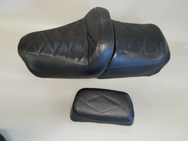 HONDA GL500 Silver Wing Seat Covers w/ BACKREST COVER in 25 COLORS (E/DIAMOND) - $67.95