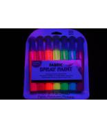 7 Piece Tulip Neon Blacklight Reactive Fabric Spray Paint Pack Mini Set - $14.95