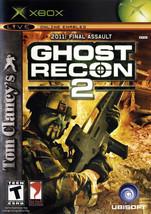 Tom Clancy's Ghost Recon 2 (Microsoft Xbox, 2004) - $2.33