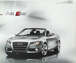 2010 Audi A5 S5 CABRIOLET sales brochure catalog US 10 - $10.00