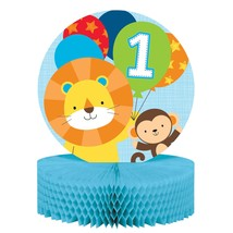 "One is Fun Boy 12"" x 9"" Honeycomb Centerpiece/Case of 6 - €35,38 EUR"