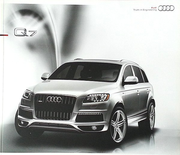 2010 Audi Q7 sales brochure catalog US 10 and similar items