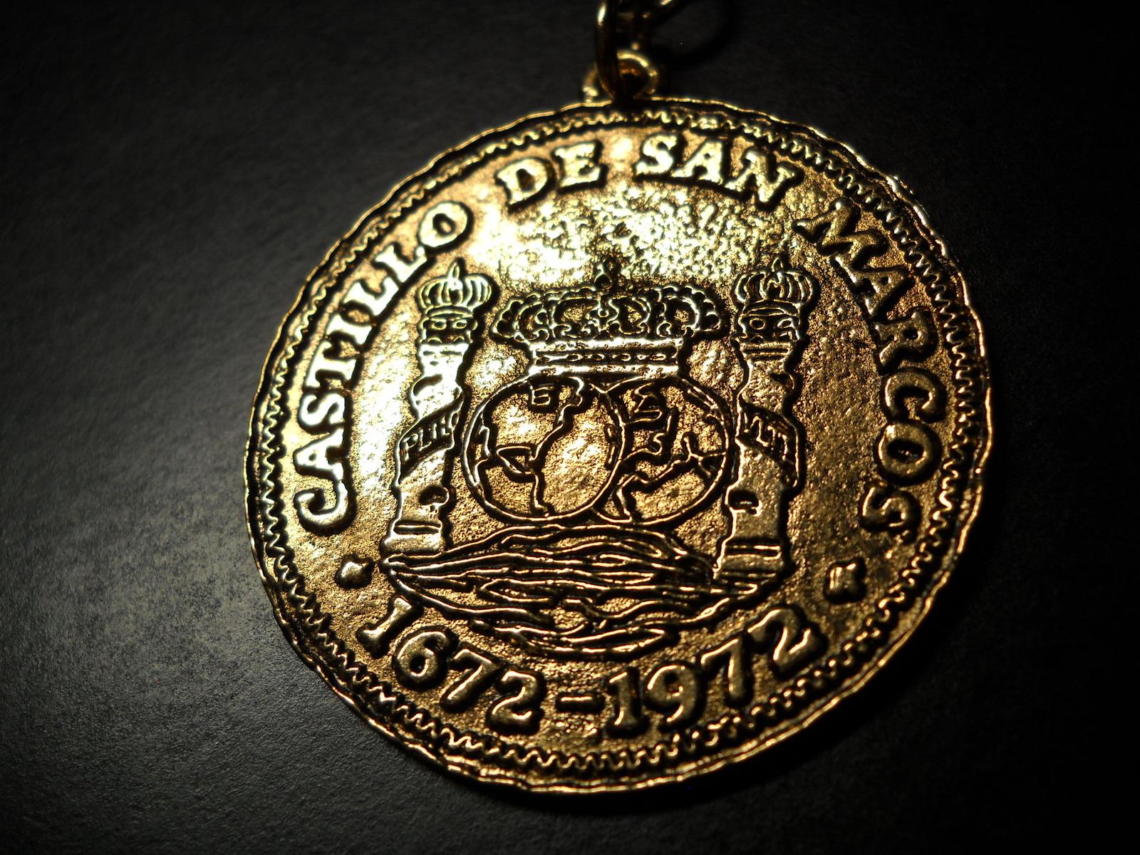 Castillo De San Marco Key Chain Bright Gold and 50 similar items