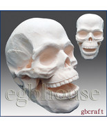 3D Silicone Soap/Candle Mold-Scary Skeleton Head(2 parts assembled mold) - $49.99