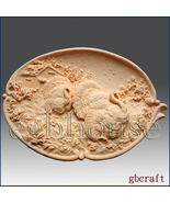 2D Silicone Soap Mold-Thanksgiving Turkey Platter - Free Shipping - $32.00