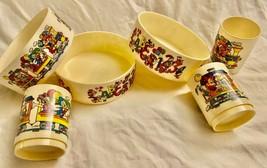 DISNEY Vintage MICKEY Train Snack'N Fun Time Bowl & Cup Child Set  **SUP... - $59.99