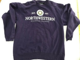 Vtg Northwestern University Lee Sweatshirt SIZE Large Mint Light Wildcat... - $20.89