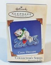 2003 Hallmark Keepsake COOL DECADE # 4 Christmas Ornament -  in Box with... - $9.49