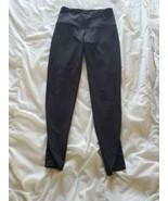 Victoria Secret Sport Knockout Black Leggings Mesh size XS - $10.40
