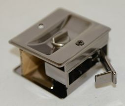 Cal Royal SDL16 Sliding Door Lock Privacy Satin Nickel Oxidized image 3