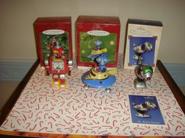 Hallmark 2000 ~ 2002 Robot Parade Complete Series 1~3 Ornaments - $24.99