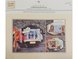 Heidi Grace Chipboard Book Kit, Contains 40 Pieces