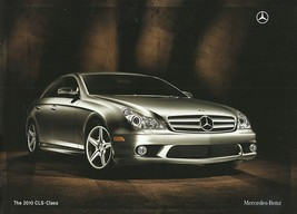 2010 Mercedes-Benz CLS-CLASS brochure catalog US 10 550 - $10.00