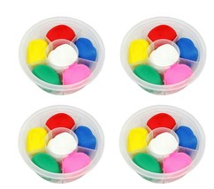 Donerland Honey Clay Mini Pack 6 Colors Set (4 Counts) image 1