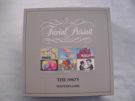 Trivial Pursuit The 80'S Master Edition - $14.00