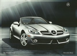 2010 Mercedes-Benz SLK CLASS brochure catalog US 10 300 350 - $8.00