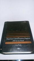1992 Ford Car Truck Service Manual Powertrain Control Emissions Diagnostics - $16.83