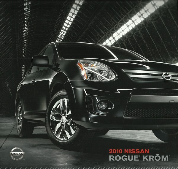 Primary image for 2010 Nissan ROGUE KROM edition sales brochure catalog US 10