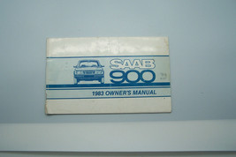 1983 saab 900 owners manual new original blemish on the cover - $29.99